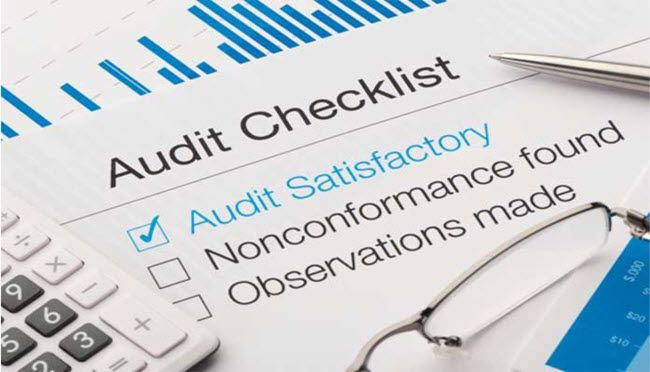ISO 9001 internal audit checklist for manufacturing
